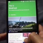 HTC One 2014 Blinkfeed