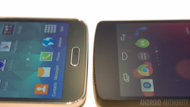 LG G2 vs Samsung Galaxy S5 Hands On -1160883