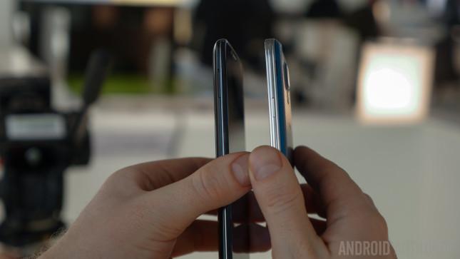 LG G2 vs Samsung Galaxy S5 Hands On -1160919