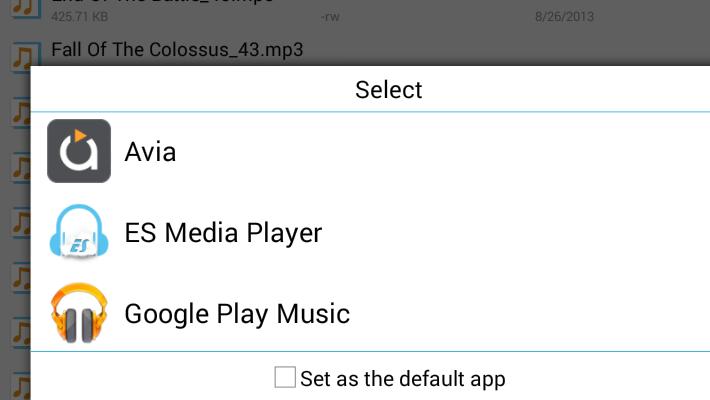 ES File Explorer Media Player