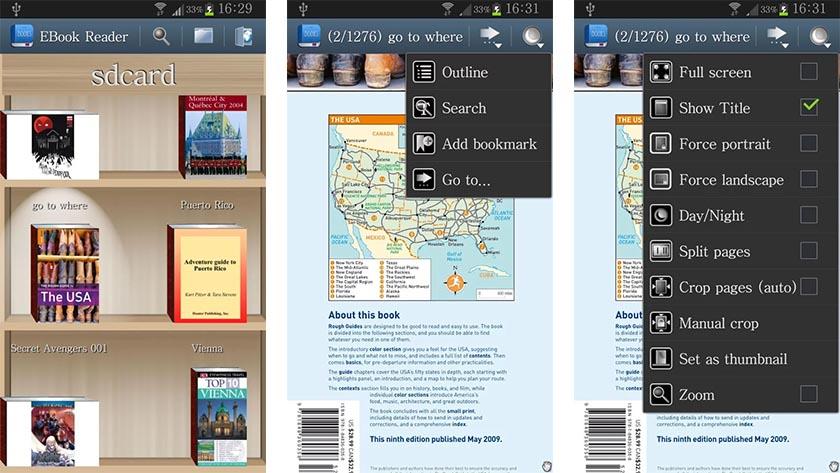 leitor de ebook para celular lg