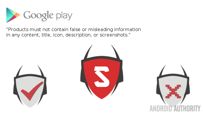Fake Antivirus App Virus Shield Play Store Policy
