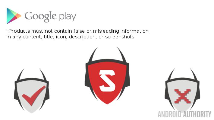 Fake Antivirus App Virus Shield Play Store Policy