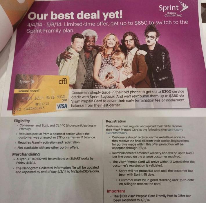 Sprint Framily Plan Uncarrier