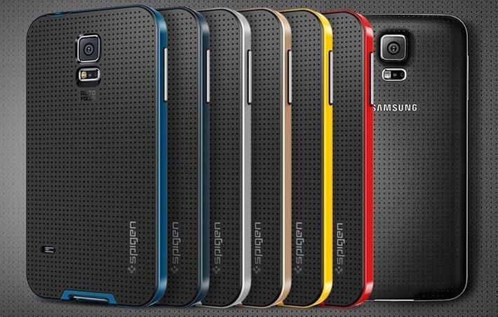 best galaxy s5 cases spigen neo hybrid