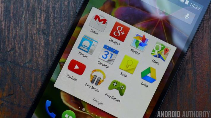 google apps nexus 5