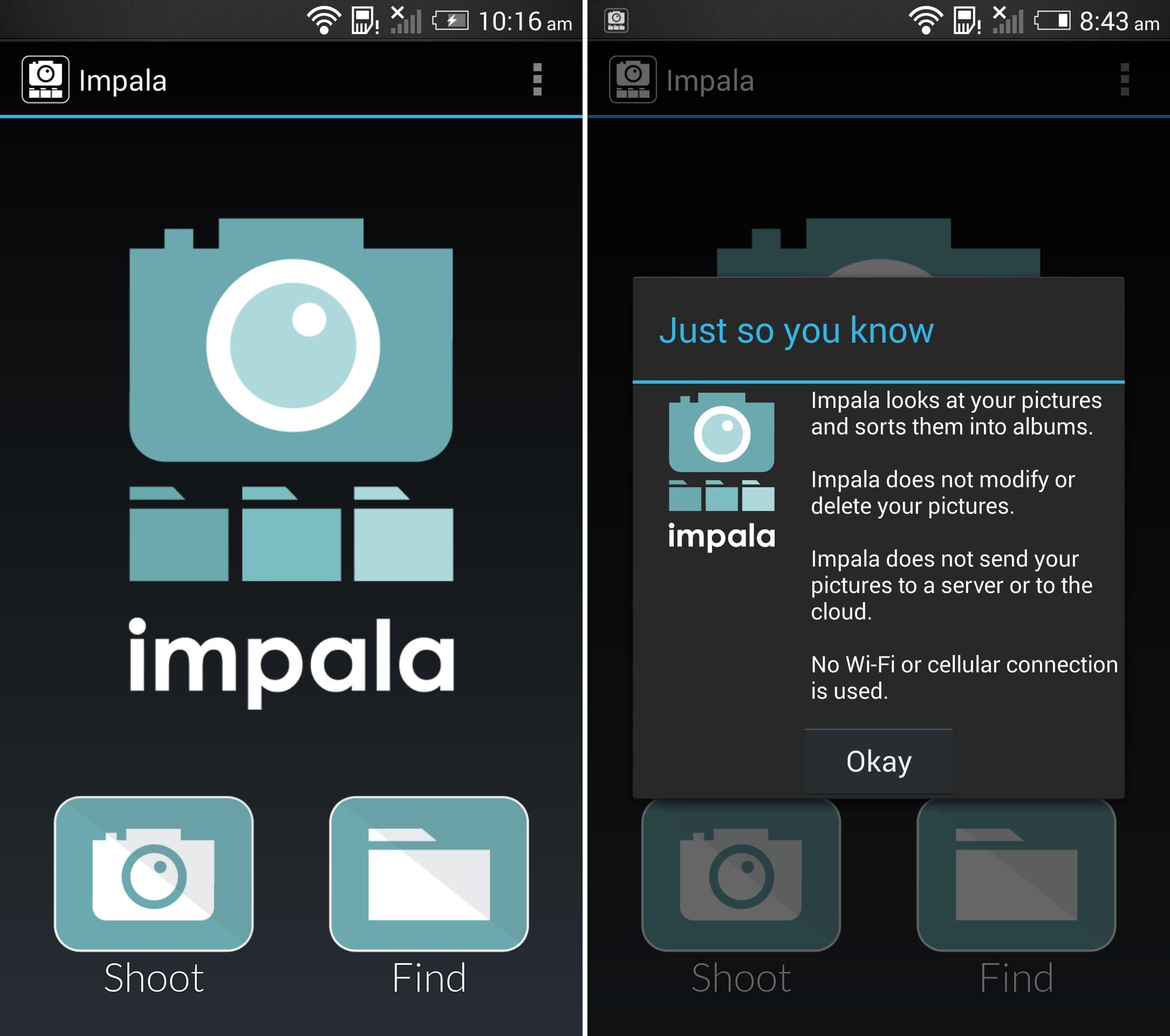 impala-screenshot-main-menu