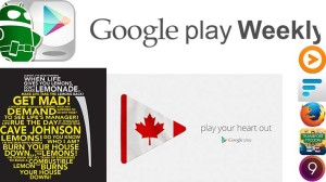 Google Play Weekly featured