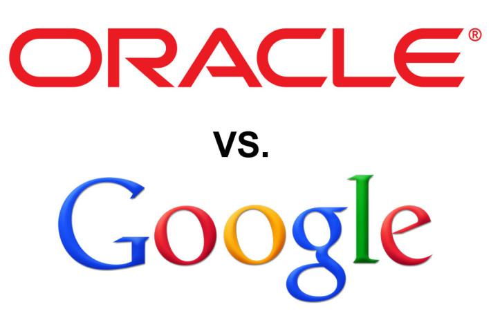 Oracle vs Google Logo