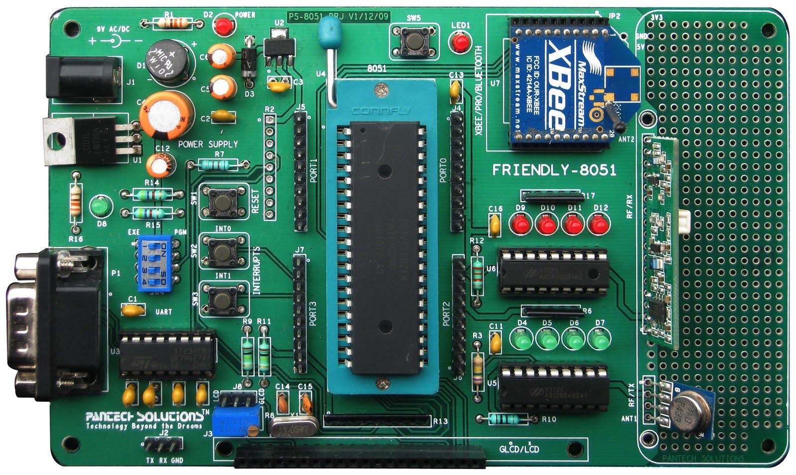 P89V51RD2 8051 Development Board
