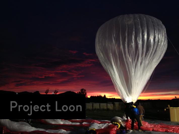 Project Loon Google Raven Aerostar Balloon