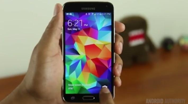Samsung Galay S5 Quick Camera