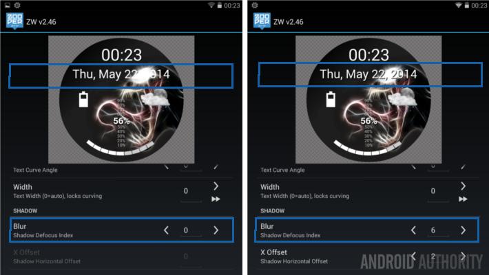Zooper Widget Drop Shadow AA best android widgets