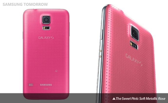 sweet pink samsung galaxy s5