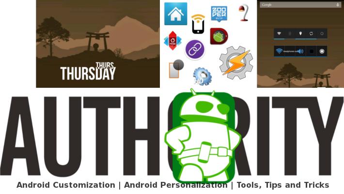 Android Customization Header Zooper Widget June 12