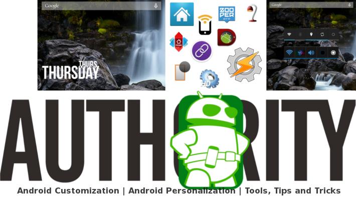 Android Customization Header Zooper Widget Tasker June 5
