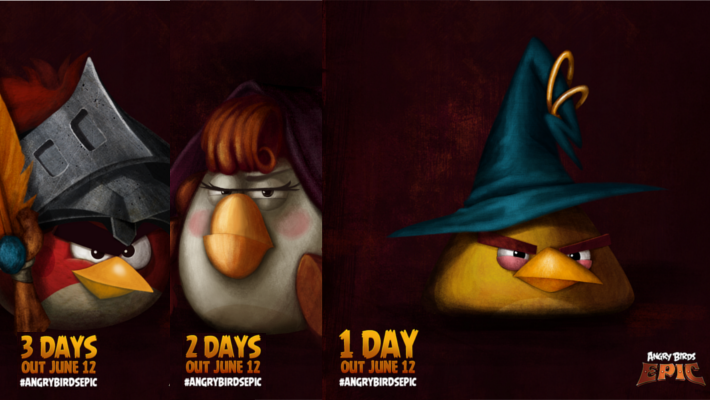 Angry Birds Epic 3 2 1 June 12