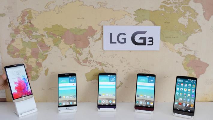 LG G3 Global Launch June 27