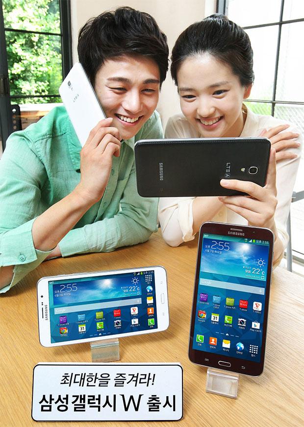 Samsung Galaxy W Korea