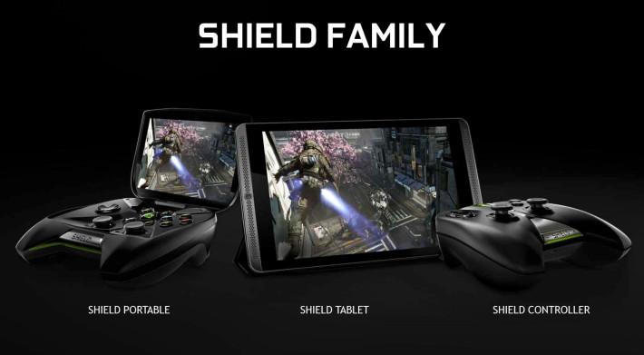 Shield Tablet Family Controoler Portable NVIDIA Tegra K1