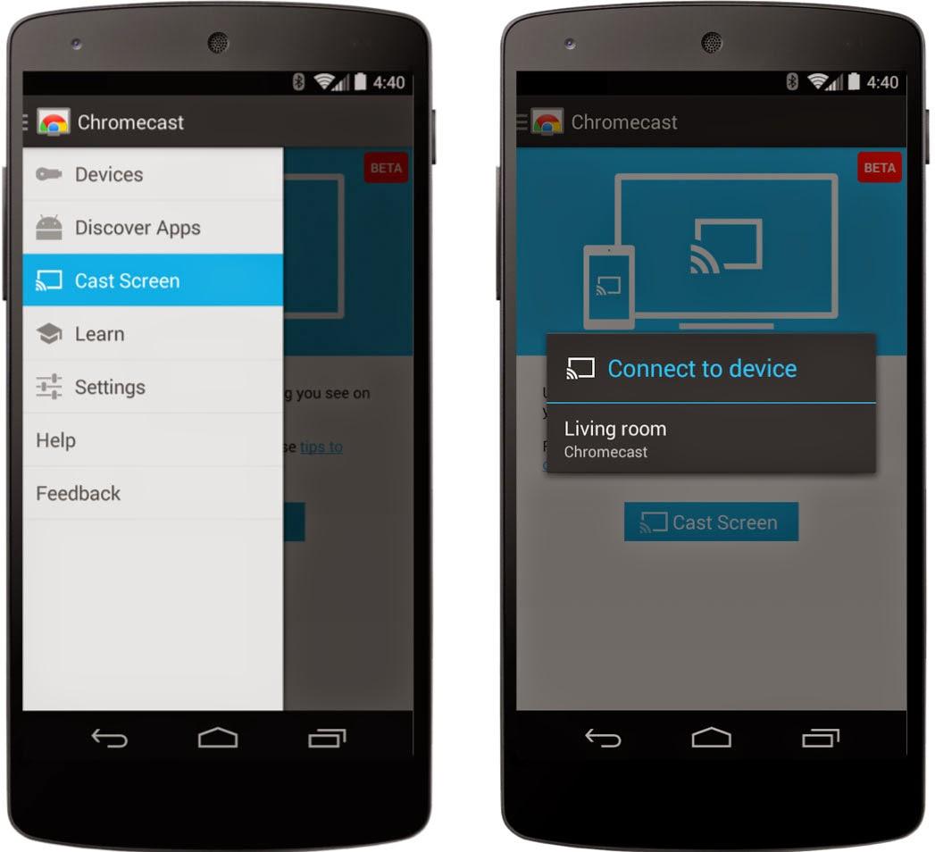 Chromecast mirroring now runs on nearly any device, via root app