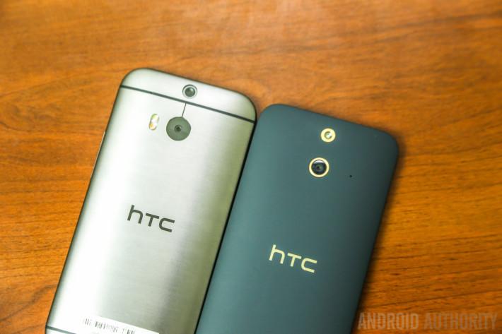HTC One E8 vs HTC One M8 -7