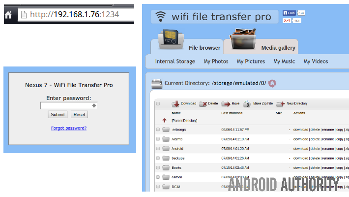 WiFi File Transfer Pro Log in