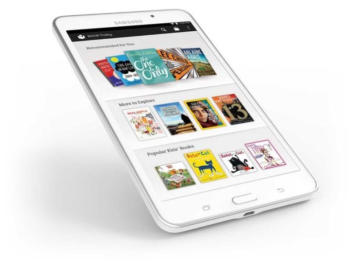 Samsung's Nook tablets weren't big sellers Holiday 2014