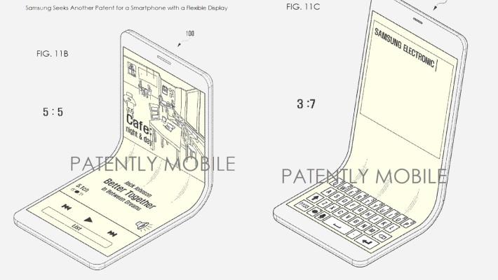 samsung flexible display patent