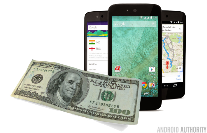 100 dollar Android One