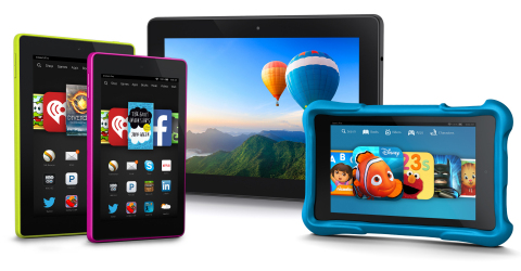 Amazon Fire Tablet Family