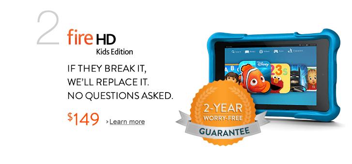 Amazon Kindle Fire HD Kids