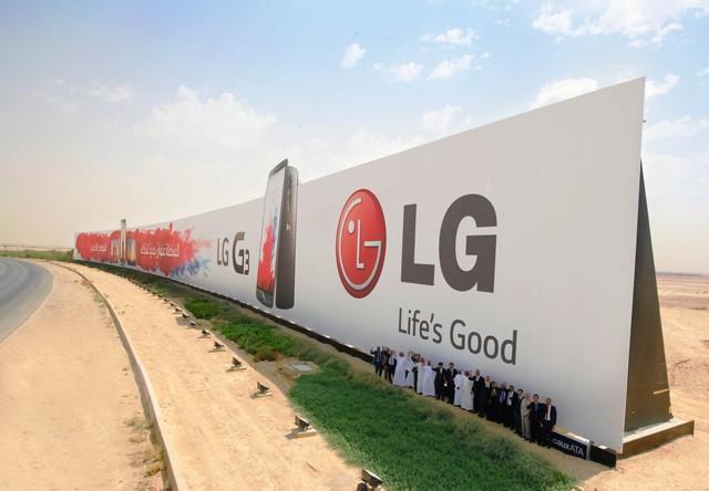 LG Billboard