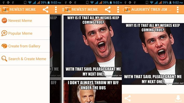 best meme generator apps for Android