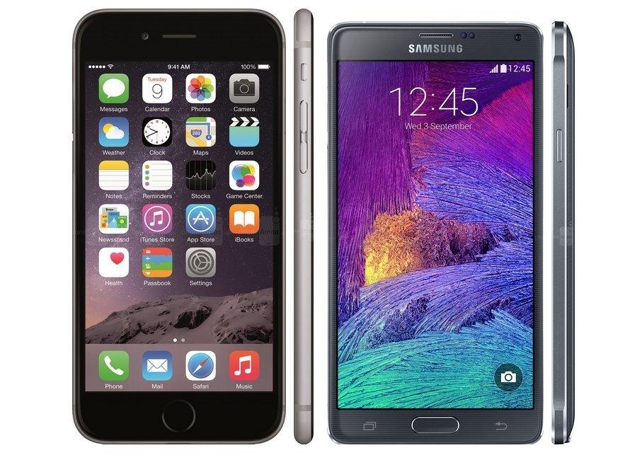 Samsung Galaxy Note 3 vs Apple iPhone 6 Plus