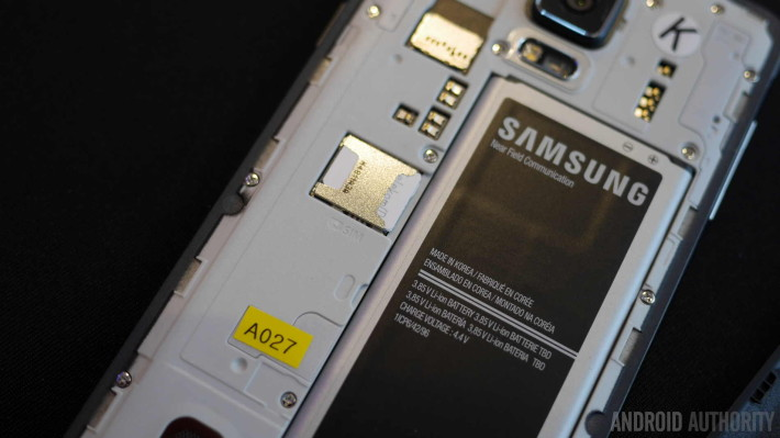 samsung galaxy note 4 battery sd card aa 3