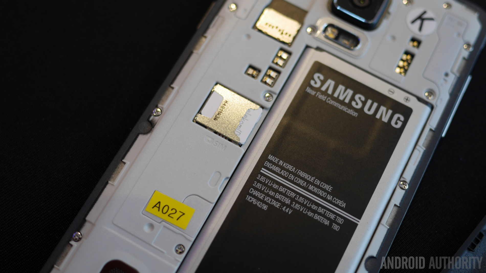 samsung galaxy note 4 battery sd card aa 3