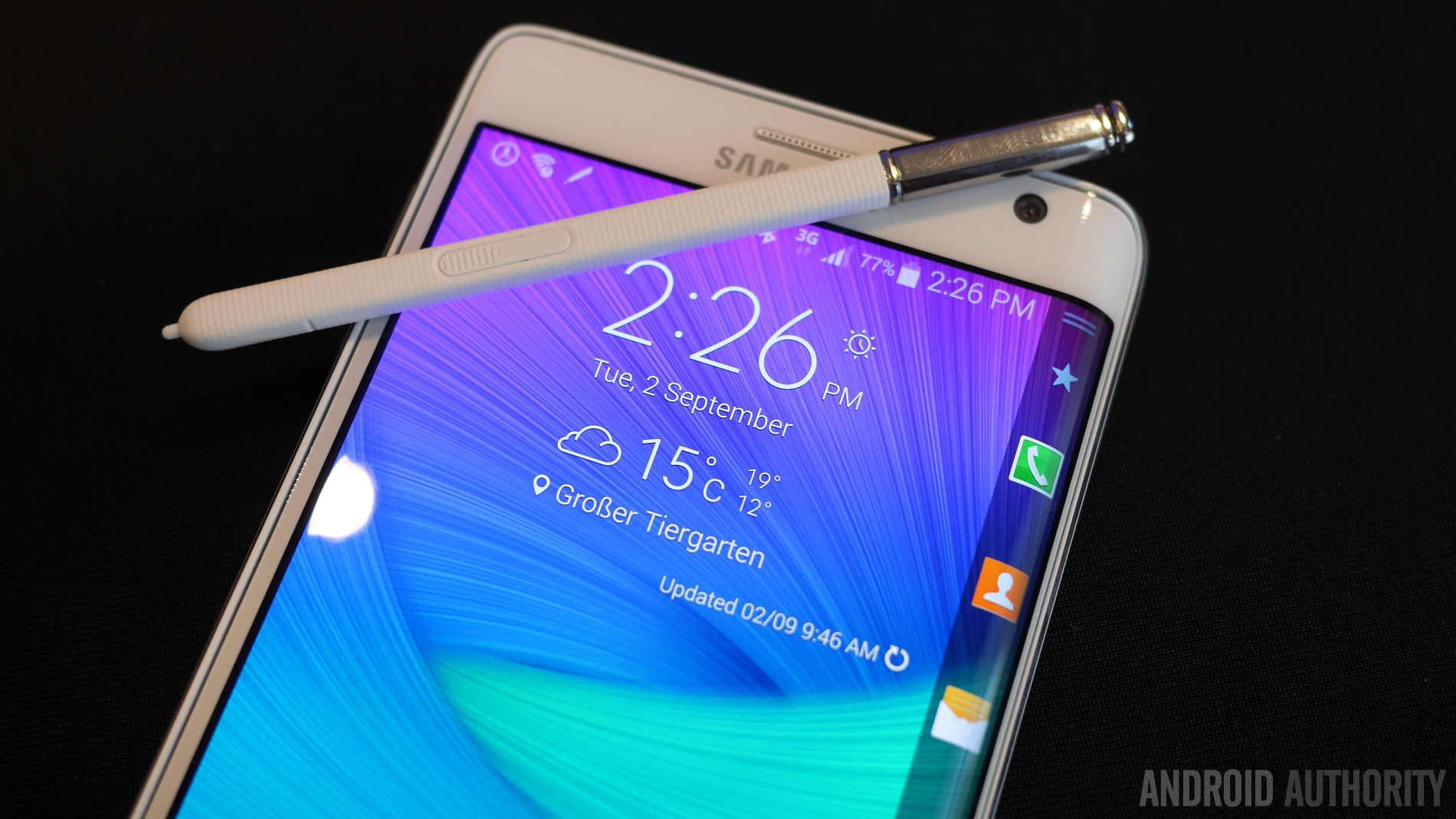 Samsung Galaxy Note Edge Hands on VonDroid Community