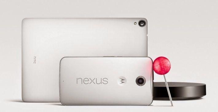 Nexus-6 9 lollipop