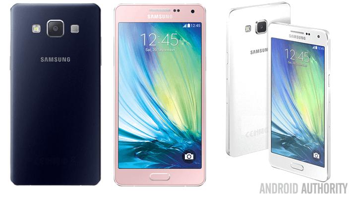 Samsung Galaxy A5 press shots
