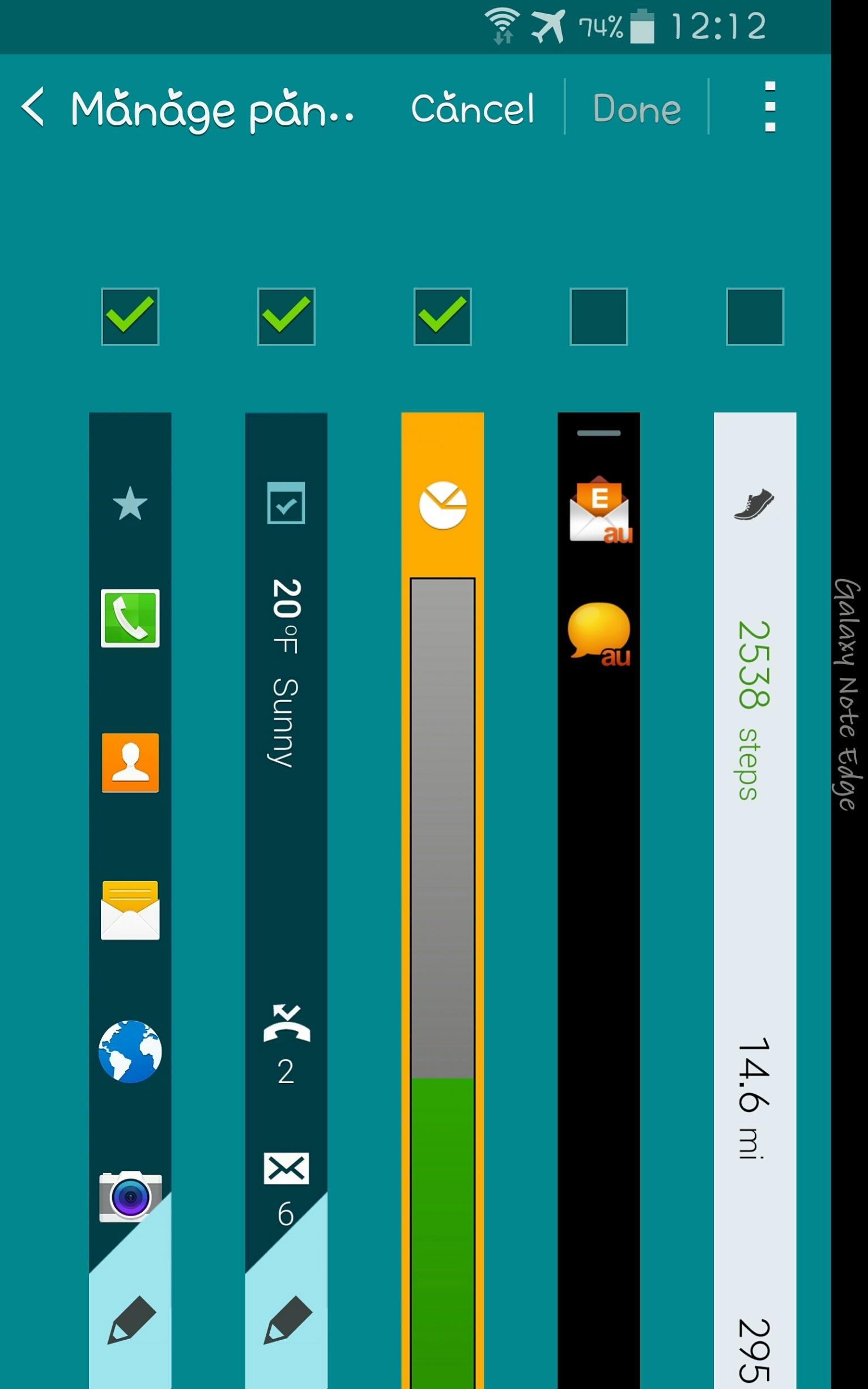 Samsung Galaxy Note Edge Software 11