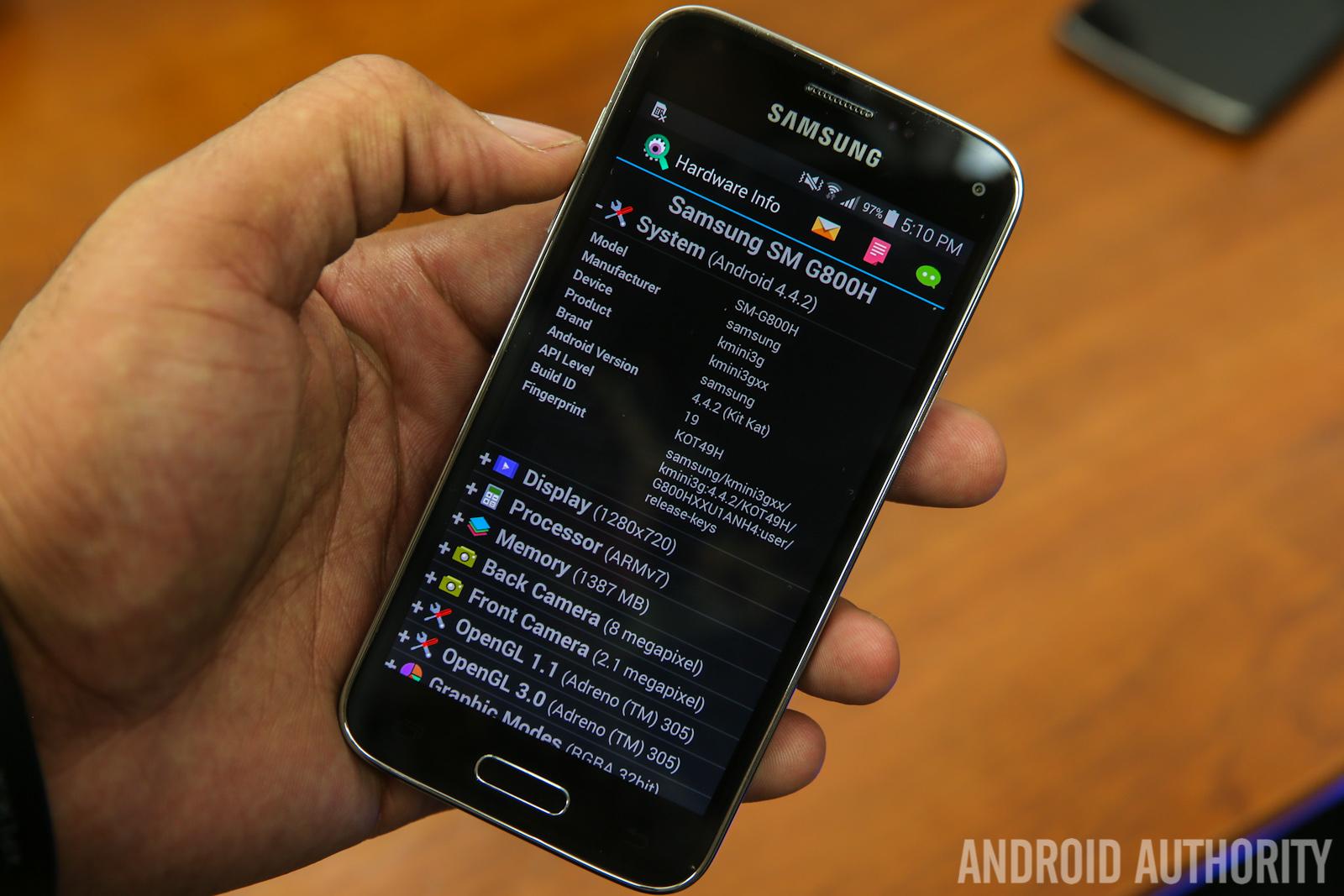 Samsung Galaxy S5 Mini -27