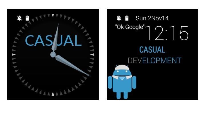 CASUALWear Android Wear