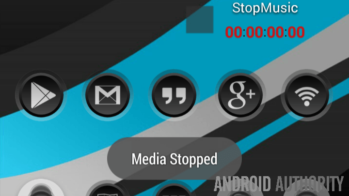 Tasker Task Timer Music Stop notify