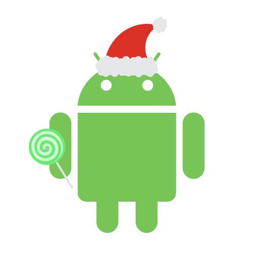 Androidify Christmas Lollipop