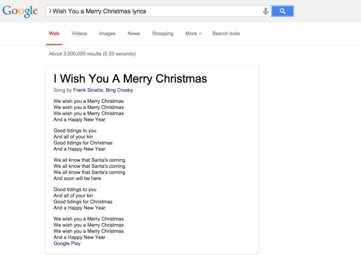 search website lyric