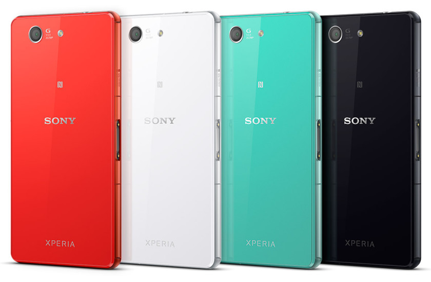 xperia z3 compact back colors