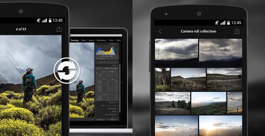 adobe lightroom mobile best Android apps for artists