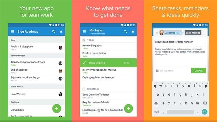 Asana android apps