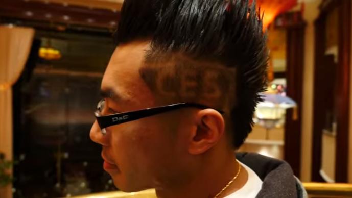 CES 2015 Lahn Head Shave
